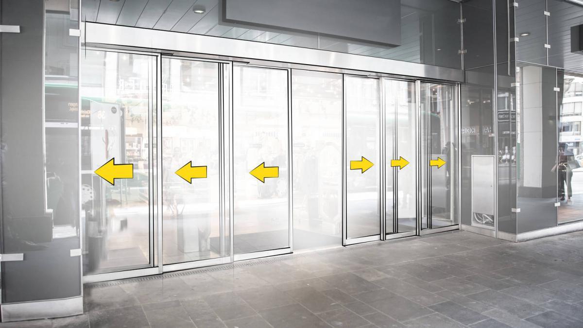 Pintu Otomatis Model Heaviest