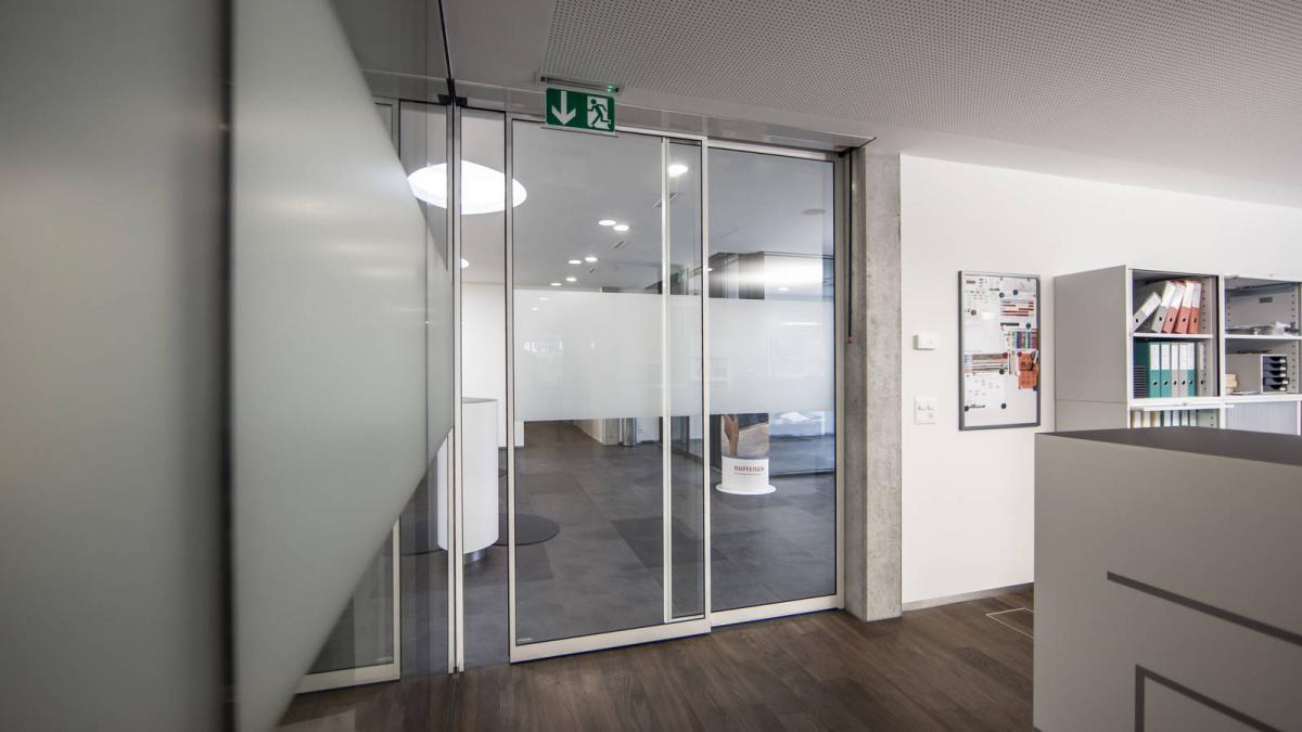 Pintu Otomatis Slim frame