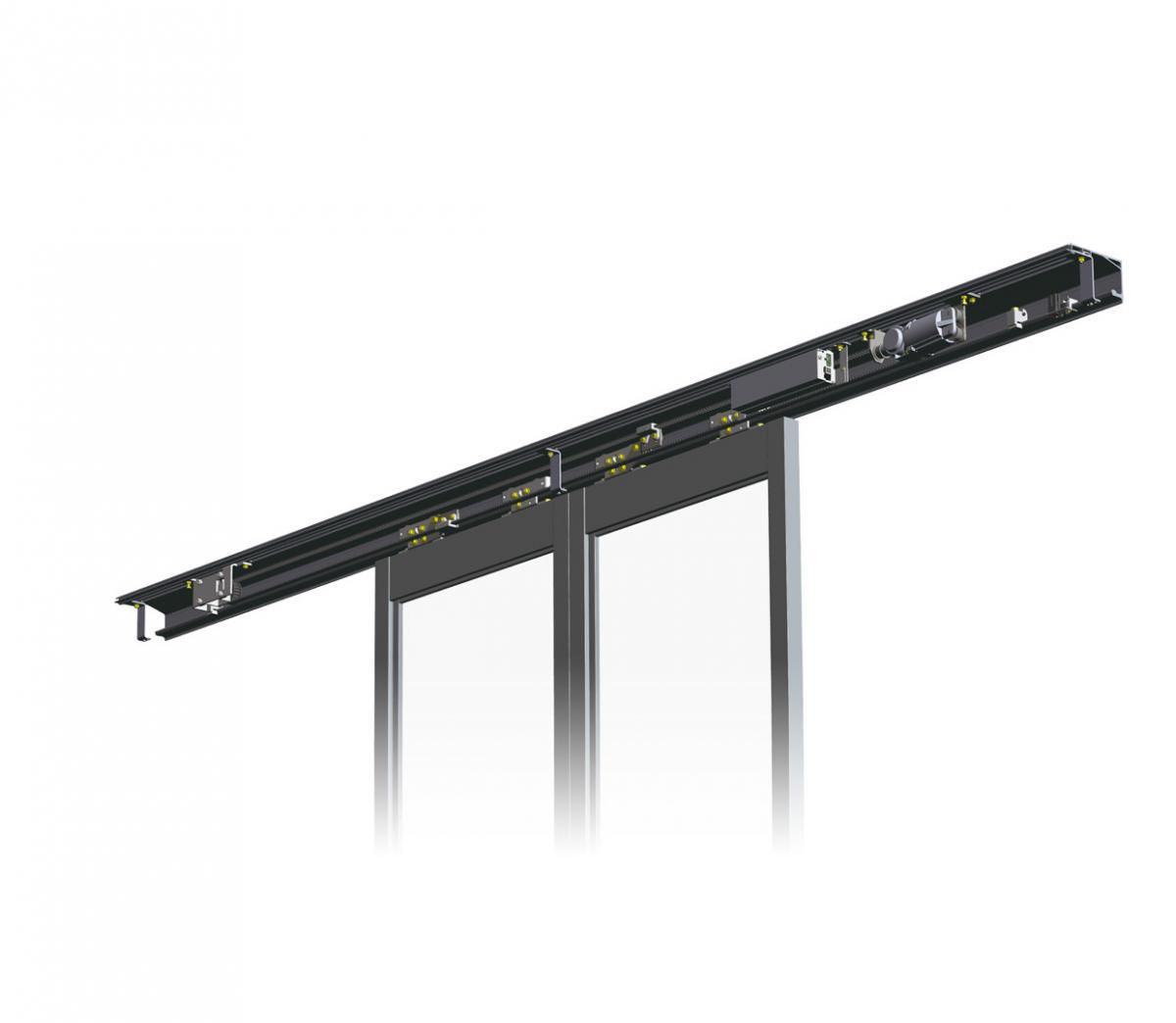 Slim Header Automatic Door DSN-60/75/150S-HM